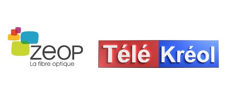 La TV de Zeop accueille la chaîne NEW TELE KREOL