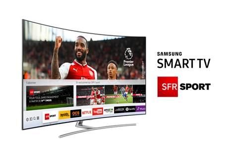 SFR Sport 4K et les autres chaînes sports de SFR en live sur les Smart TV Samsung