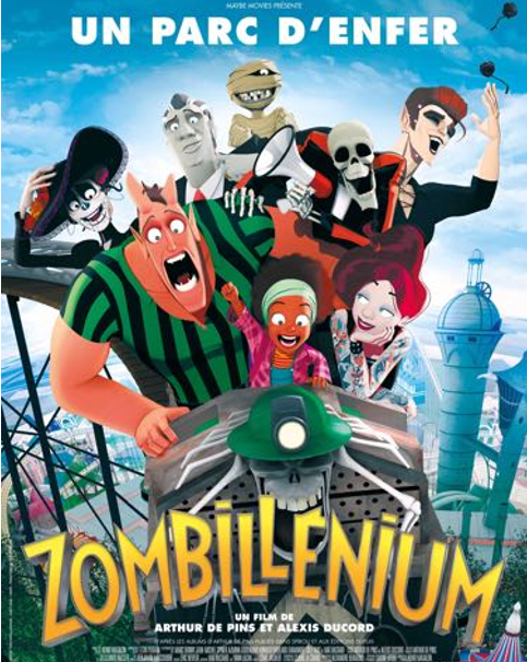 """""""Zombillenium"""" le long-métrage d'animation péi au cinéma le 11 octobre à La Réunion, une semaine avant la métropole"""