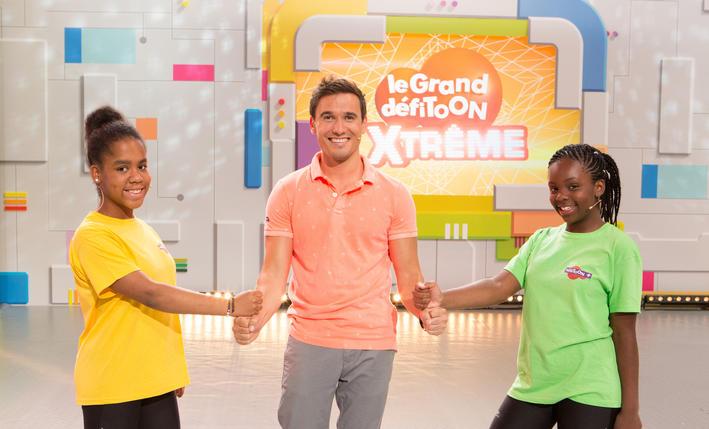 Le Grand Défitoon Xtrême © Canal+ - Teletoon+
