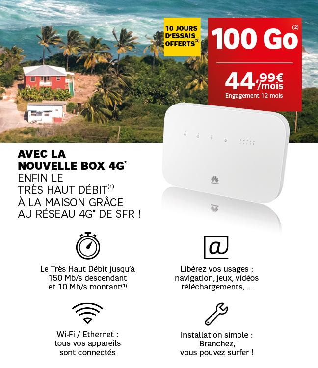 Antilles-Guyane: SFR lance la Box 4G pour les oubliés du Très Haut Débit