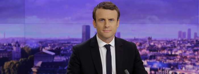 Emmanuel Macron © Christophe Russeil / FTV