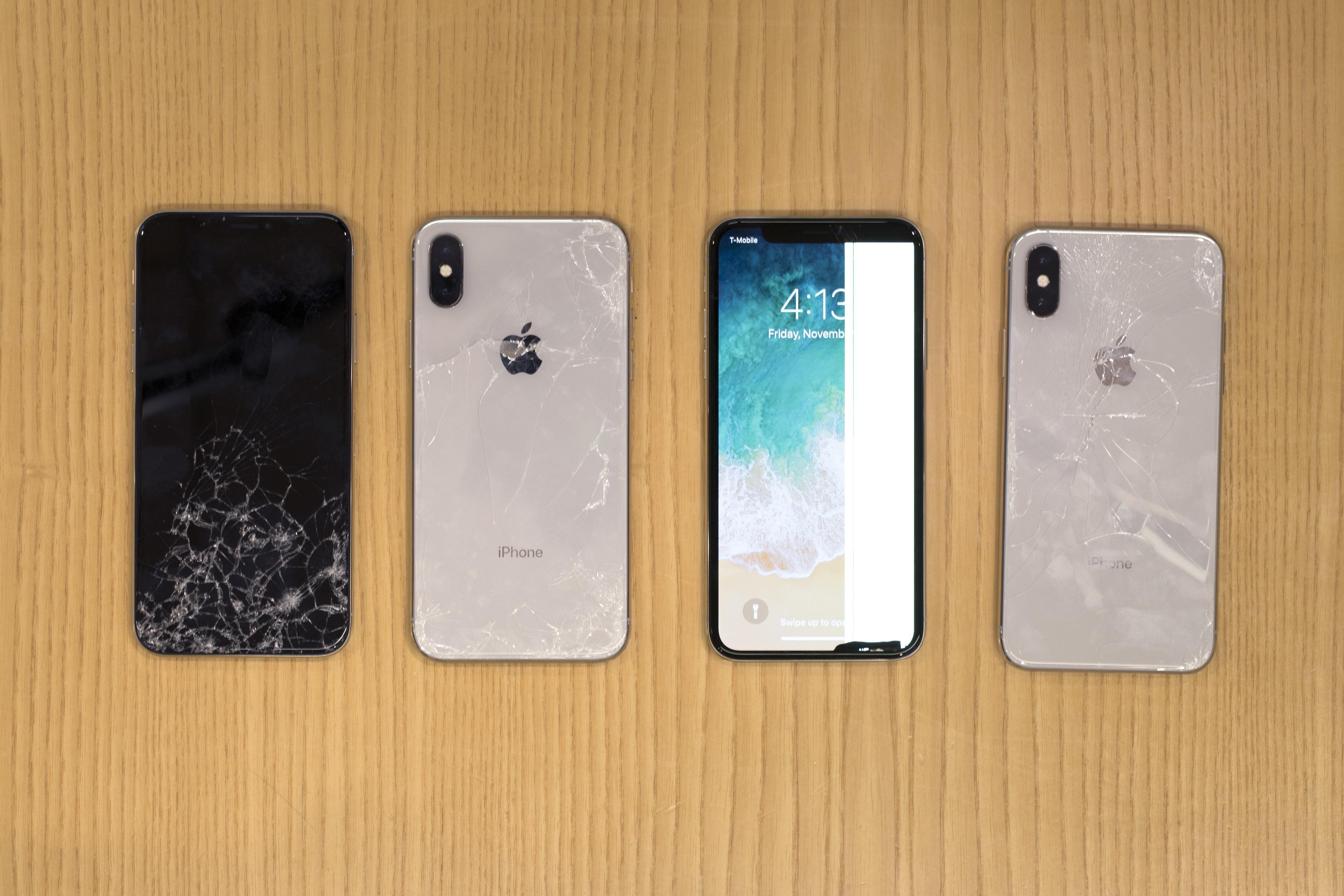 iPhone X se brise face aux tests de fragilité de SquareTrade
