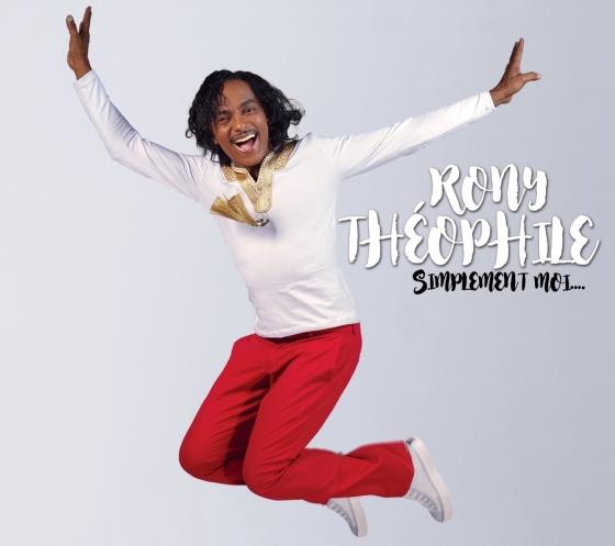 """Pochette du nouvel album de Rony Théophile """"Simplement Moi"""""""