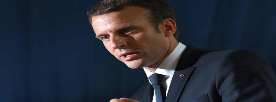 Émmanuel Macron, Président de la République