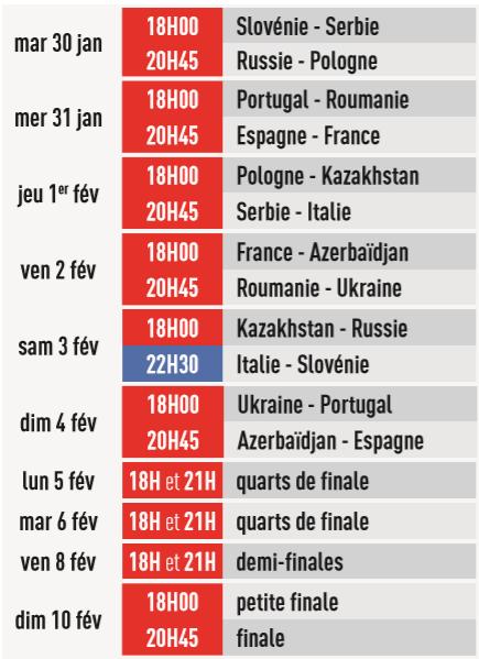La chaine L'Équipe, diffuseur officiel de l'UEFA Euro de futsal 2018