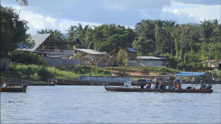 Médecines d'ailleurs consacré à la Guyane, le 5 janvier sur ARTE