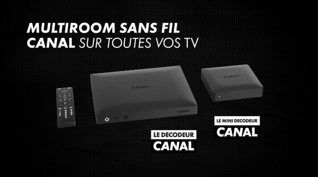 Le groupe Canal+ lance son décodeur nouvelle génération