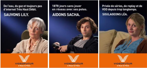 """""""Sauvons Lily, Léa et Sacha"""" VIDEOFUTUR prend fait et cause pour les oubliés de l'internet Très Haut Débit"""