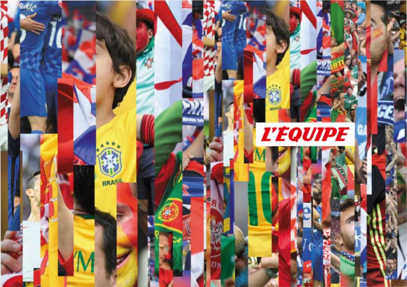 Coupe du monde 2018: Plus de 12 heures de direct sur la chaîne L'Équipe