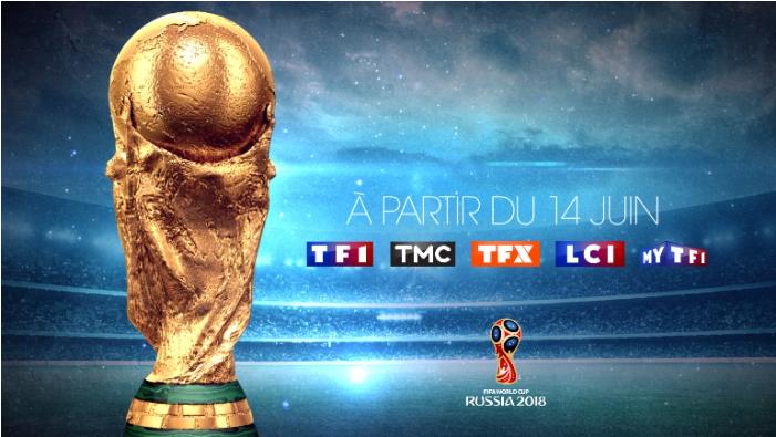 Coupe du monde 2018: Les chaînes du groupe TF1 dévoilent leurs dispositifs