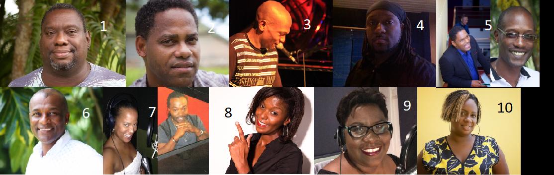 Les nouveaux animateurs de Guadeloupe la 1ère Radio © Montage: Megazap.fr
