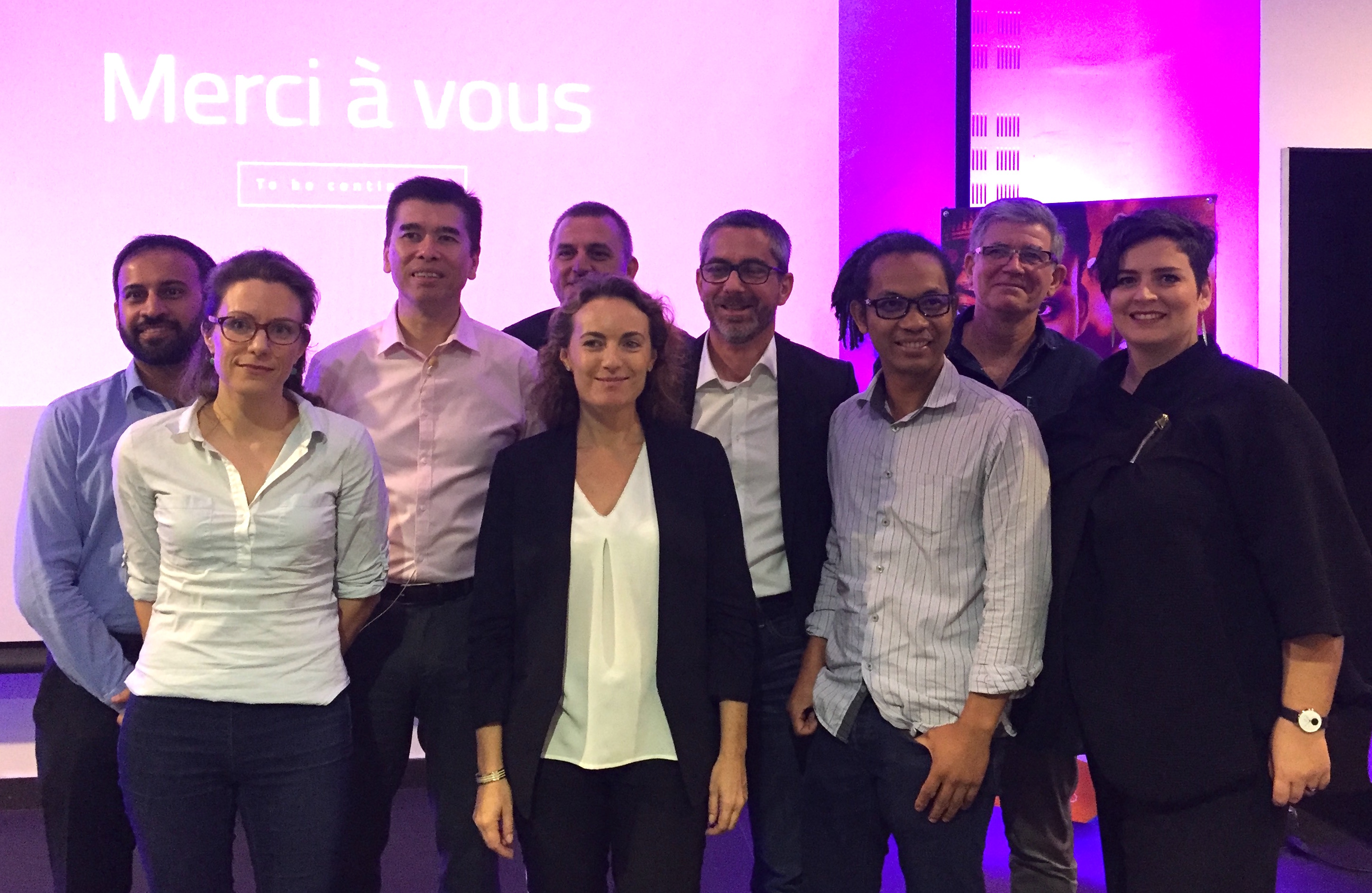 Nouvelle équipe d'administrateurs Digital Reunion