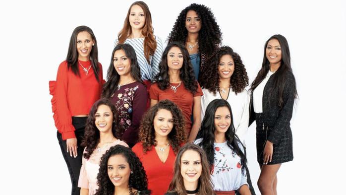 Candidates à Miss Réunion 2018