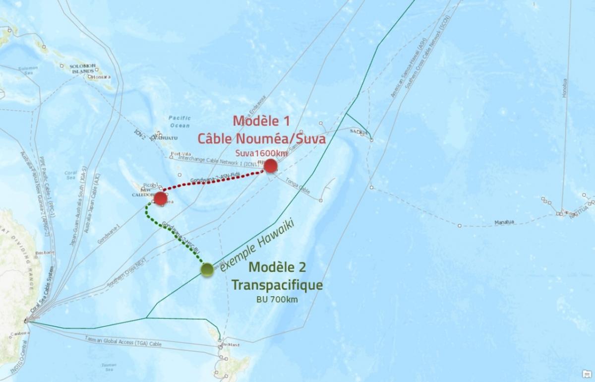 Nouvelle-Calédonie / Sécurisation internationale et domestique : Un second câble sous-marin pour sécuriser Gondwana-1