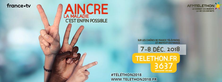 Guyane La 1ère se mobilise pour le Téléthon