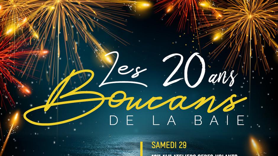 """Soirée réveillon du Nouvel An: Martinique la 1ère propose une soirée spéciale consacrée au 20ème anniversaire des """"Boucans de la Baie"""""""
