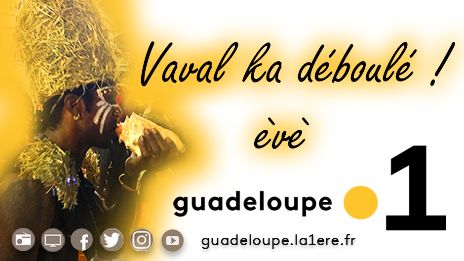 Le Carnaval déboule sur les antennes de Guadeloupe la 1ère