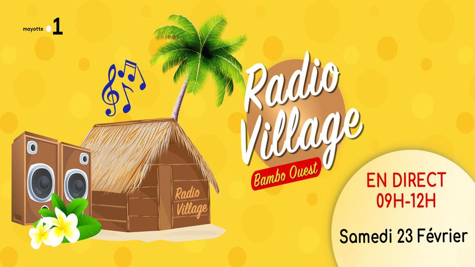 Radio Village à Bambo Ouest à l'occasion des JILM, ce samedi sur les trois antennes de Mayotte la 1ère