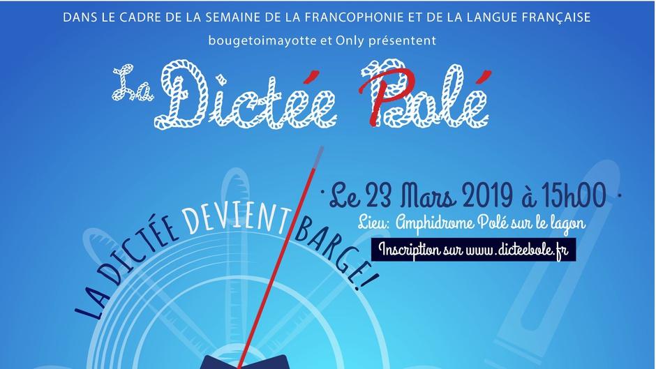 """5ème édition de """"Dictée Bolé"""" organisée par Bouge toi Mayotte et Only en direct de la barge et sur Mayotte la 1ère Radio."""