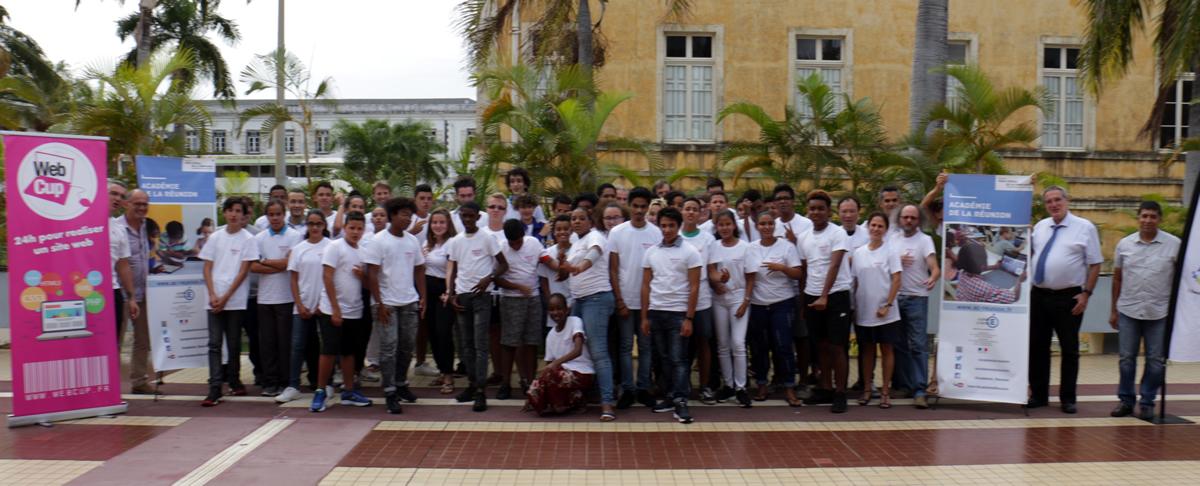 La Réunion: Et les gagnants de la 4ème édition dela Webcup Junior sont ...