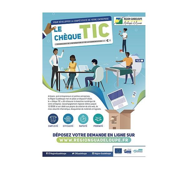 """Guadeloupe: Un """"Chèque TIC"""" pour accompagner les TPE dans leur transition numérique et digitale"""