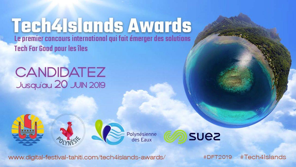 Polynésie / Tech4Islands Awards 2019: Les candidatures sont désormais ouvertes