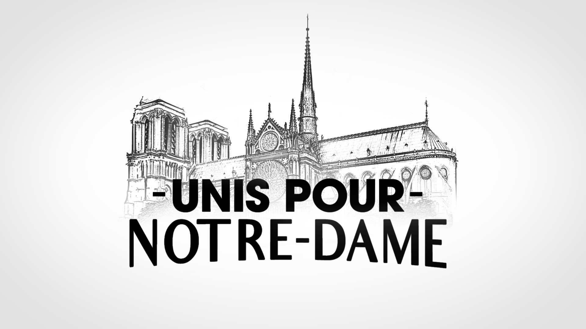 Journée spéciale « Unis pour Notre-Dame » ce jeudi sur TF1