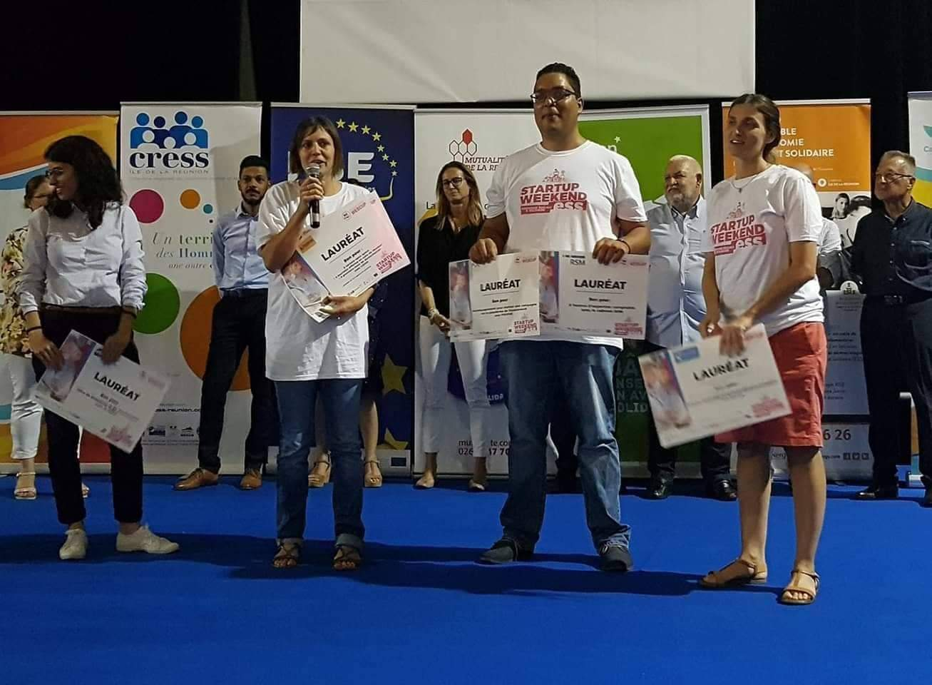 Startupweekend Économie Sociale et Solidaire: Les lauréats