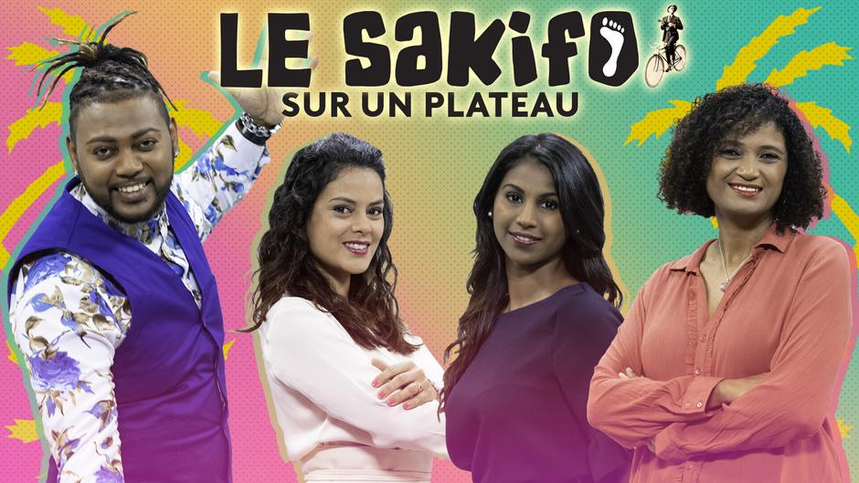 Le Sakifo sur un plateau avec Réunion La 1ère du 7 au 9 juin