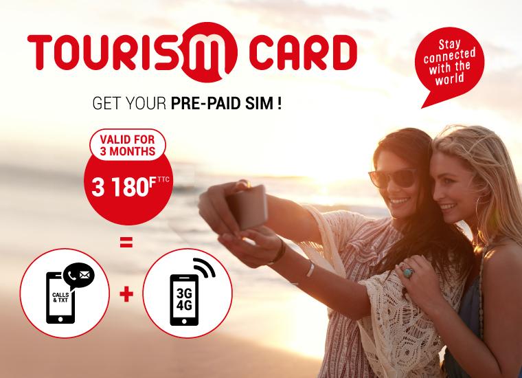 """Nouvelle-Calédonie: L'OPT lance """"La Tourism Card"""", une nouvelle offre Mobilis prépayée pour les touristes"""
