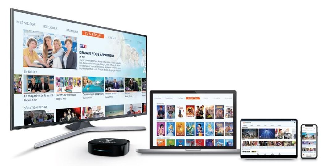 VIDEOFUTUR: Nouvelle Box, Nouvelles fonctionnalités innovantes, nouveaux accords sur les contenus, nouvelle offre digitale