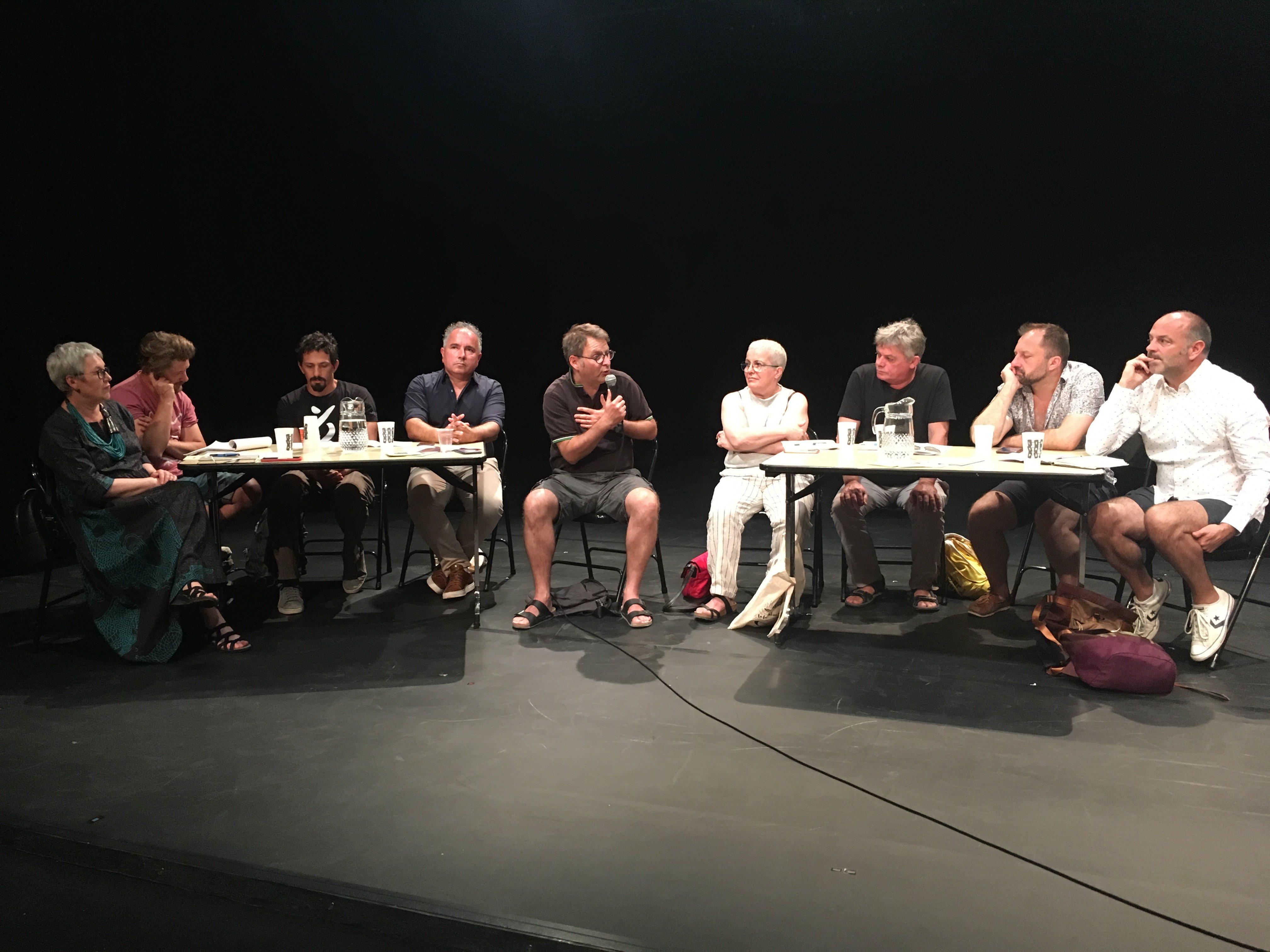 Une table ronde réunionnaise en Avignon