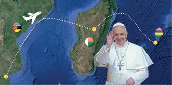 Le voyage du Pape dans l'Océan Indien en direct sur KTO
