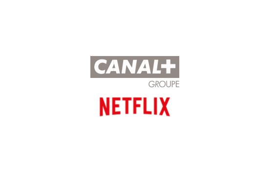 Accord de distribution entre le groupe Canal+ et Netflix