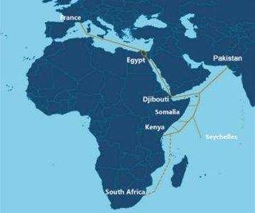 Orange, PCCW Global et PEACE s'associent pour un nouveau câble sous-marin qui connectera l'Europe à l'Asie, via l'Afrique de l'Est, d'ici à 2021