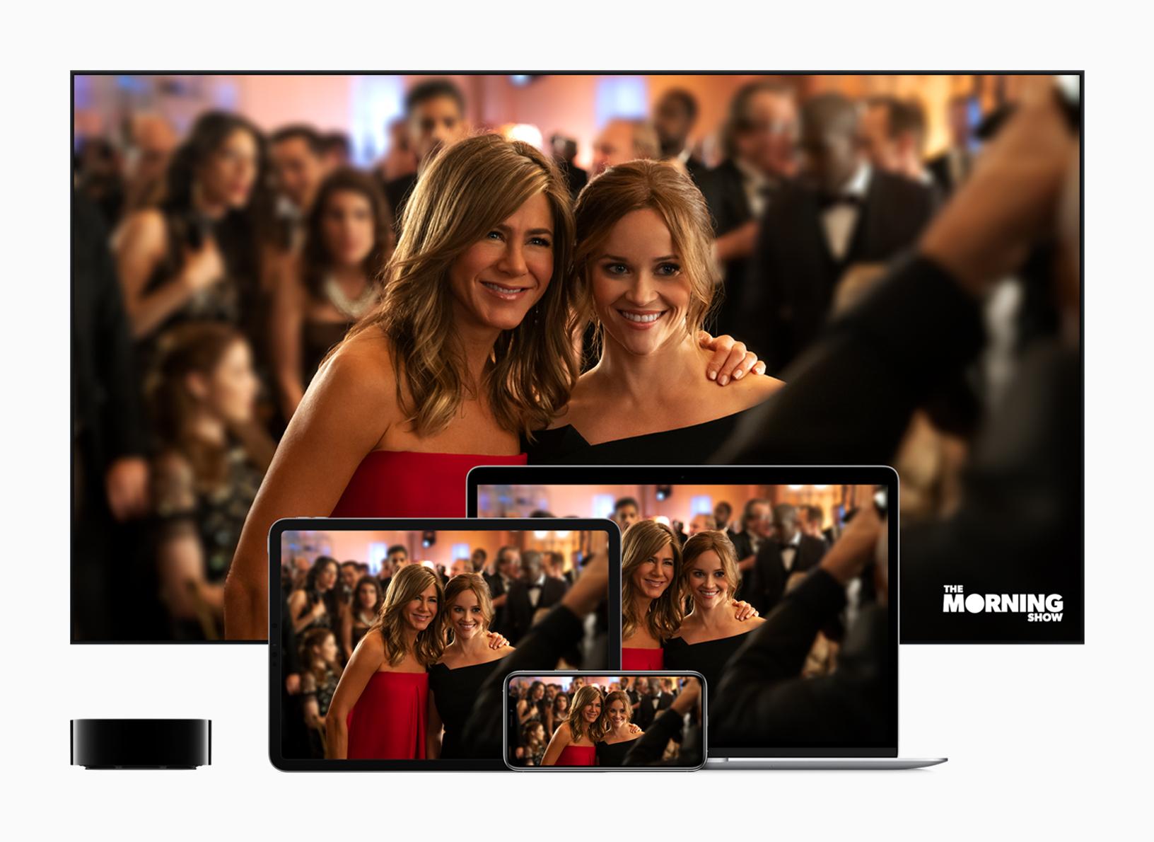 Apple TV+: Apple lance aujourd'hui son service de streaming vidéo