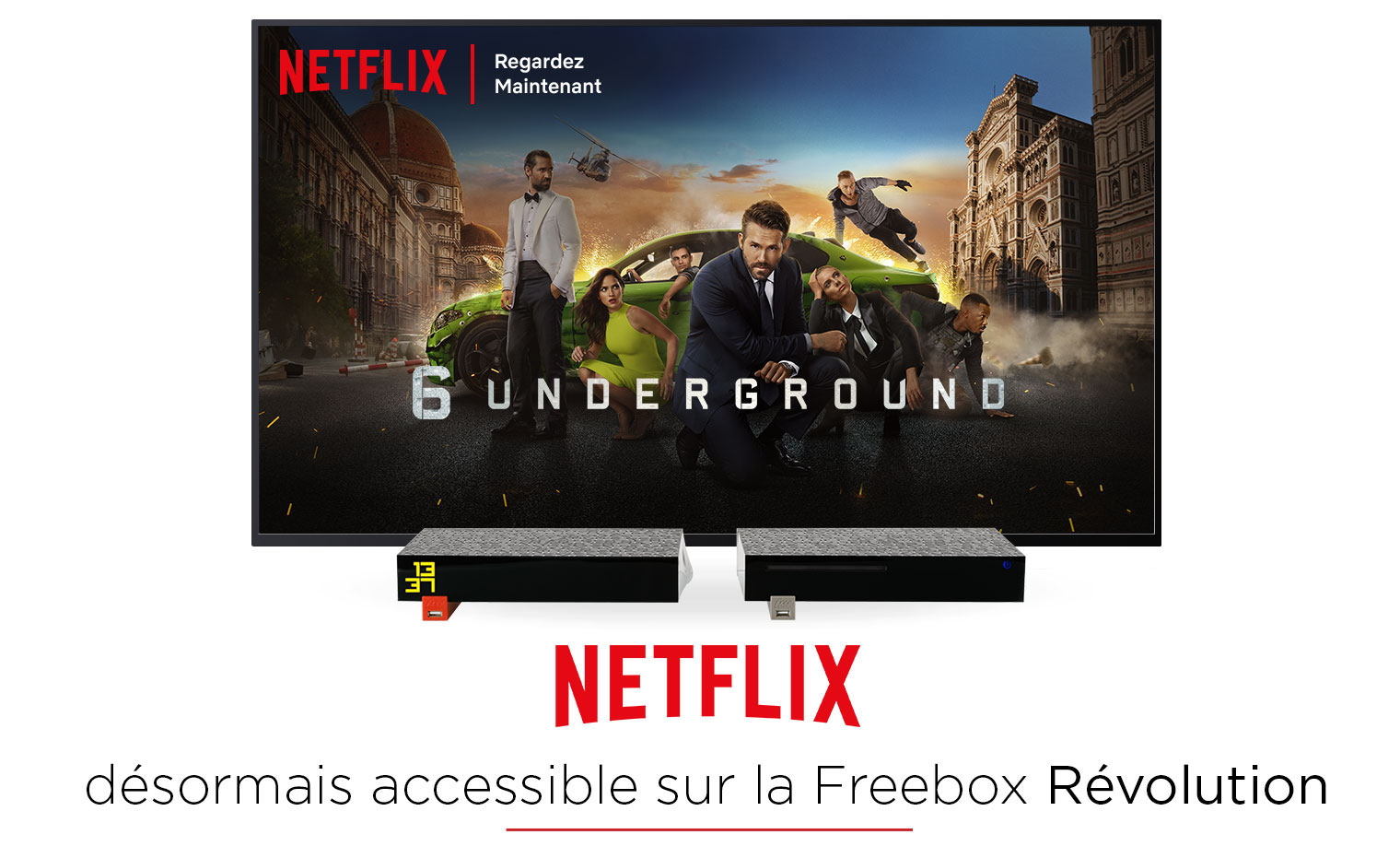 Netflix désormais accessible sur la Freebox Révolution