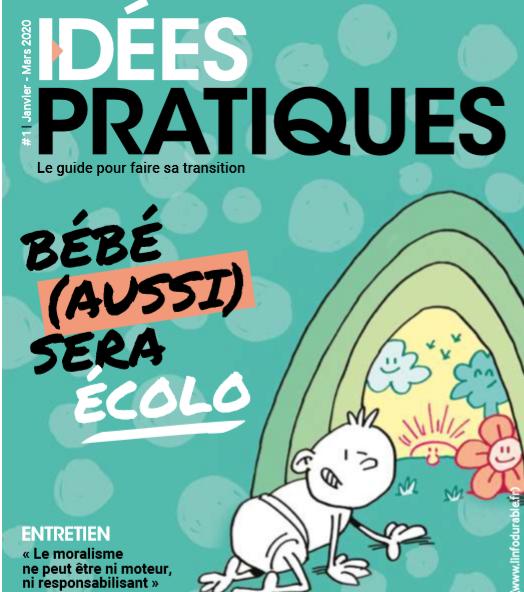 L'info Durable (ID) lance son nouveau magazine « Idées Pratiques »