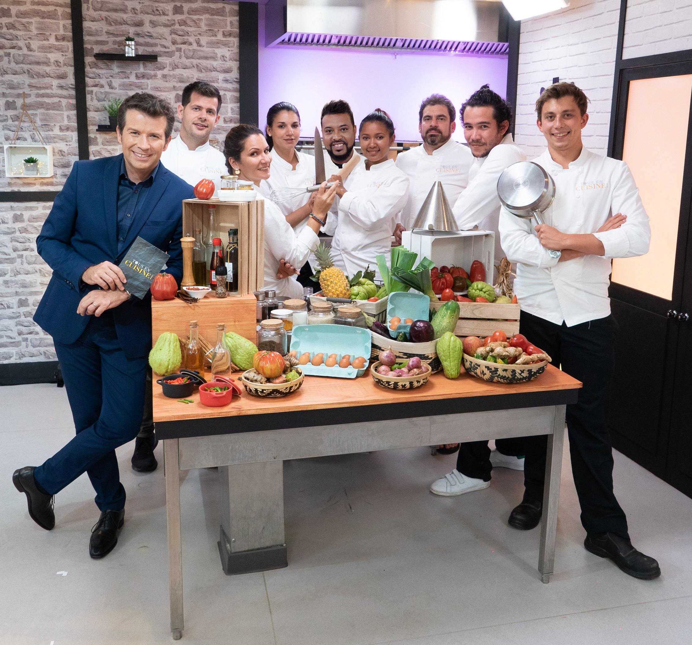 """Antenne Réunion: Succès d'audience pour """"Tous en Cuisine"""""""