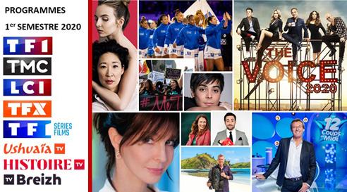 Ce qui vous attend pour ce semestre sur les chaînes du Groupe TF1 (TF1, TMC, TF1 Séries Films, Ushuaïa TV, Histoire TV, TV Breizh)