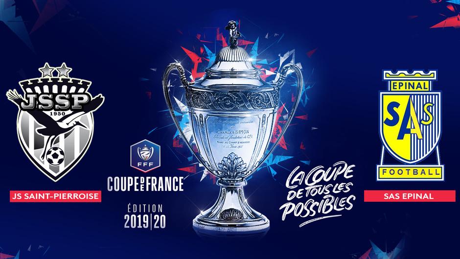 16e de finale de la Coupe de France: Épinal reçoit la Sainte-Pierroise ce samedi en direct sur Réunion La 1ère
