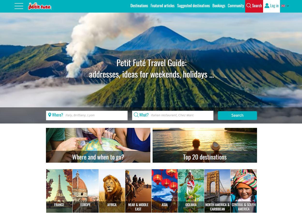 En 2020, le site du Petit Fute passe à l'international en devenant multilingue