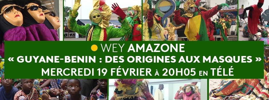 Découverte des masques sacrés béninois et les similitudes avec les traditions guyanaises dans Wey Amazone ce mercredi sur Guyane La 1ère