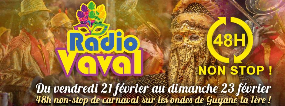 Carnaval 2020: Guyane La 1ère radio devient Radio Vaval du 21 au 23 février !