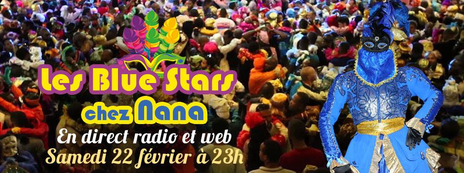 Carnaval 2020: Les Blue Stars chez Nana en direct ce samedi sur Guyane La 1ère Radio et Web
