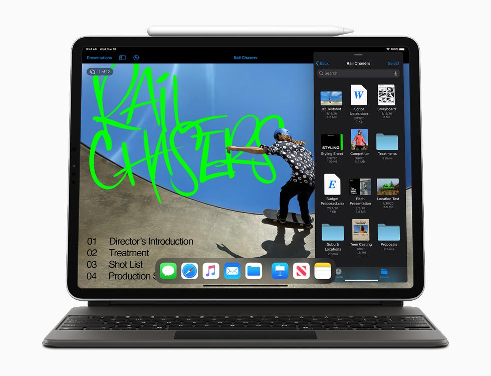 Apple annonce un nouvel iPad Pro avec scanner LiDAR et prise en charge du trackpad dans iPadOS