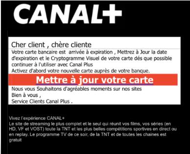 Nouvelle-Calédonie: Nouveau cas de phishing chez Canal+