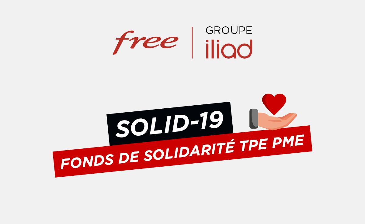 Le Groupe Iliad lance SOLID-19, un fonds de solidarité à destination de ses sous-traitants TPE/PME