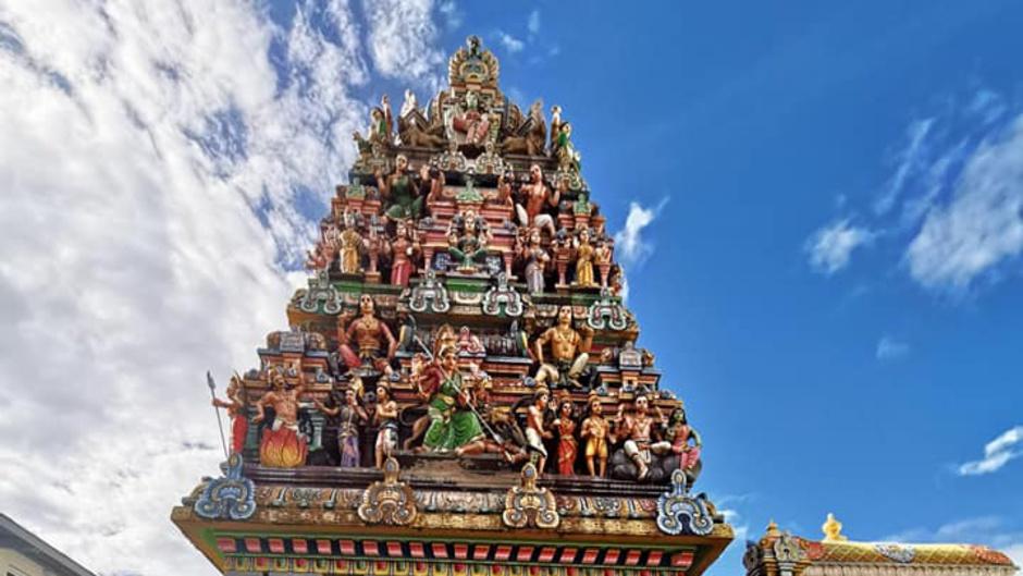 Cérémonie religieuse du jour de l'an tamoul ce mardi sur Réunion La 1ère